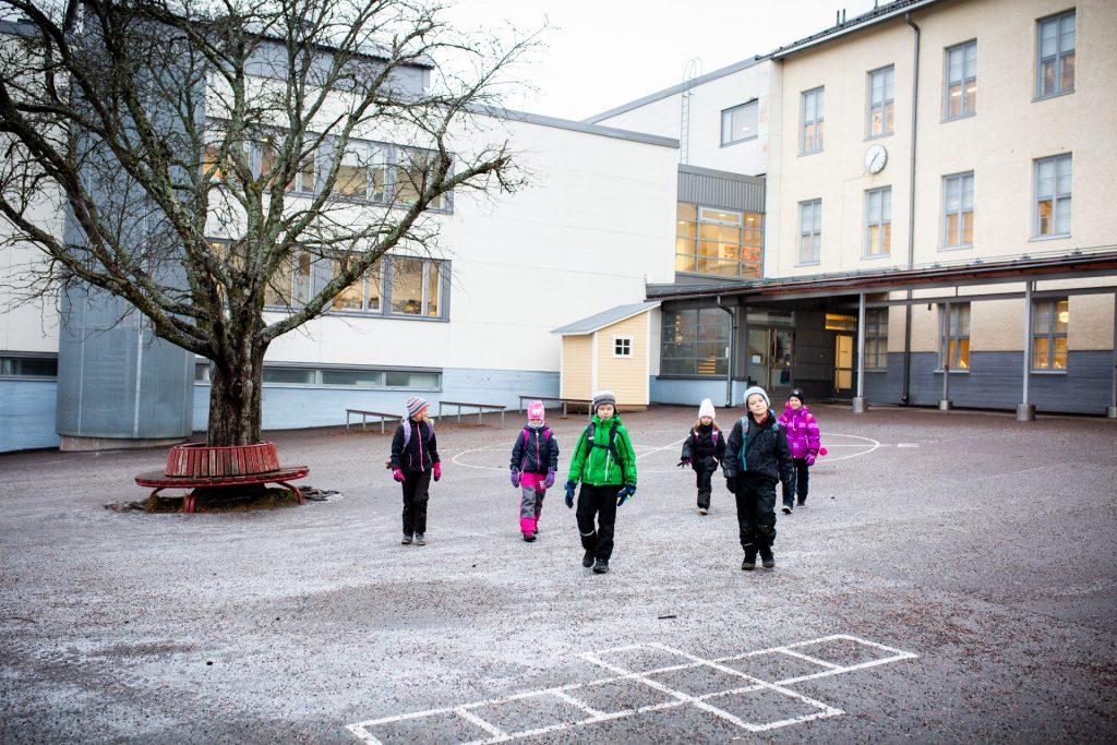 Renkomäen koulu