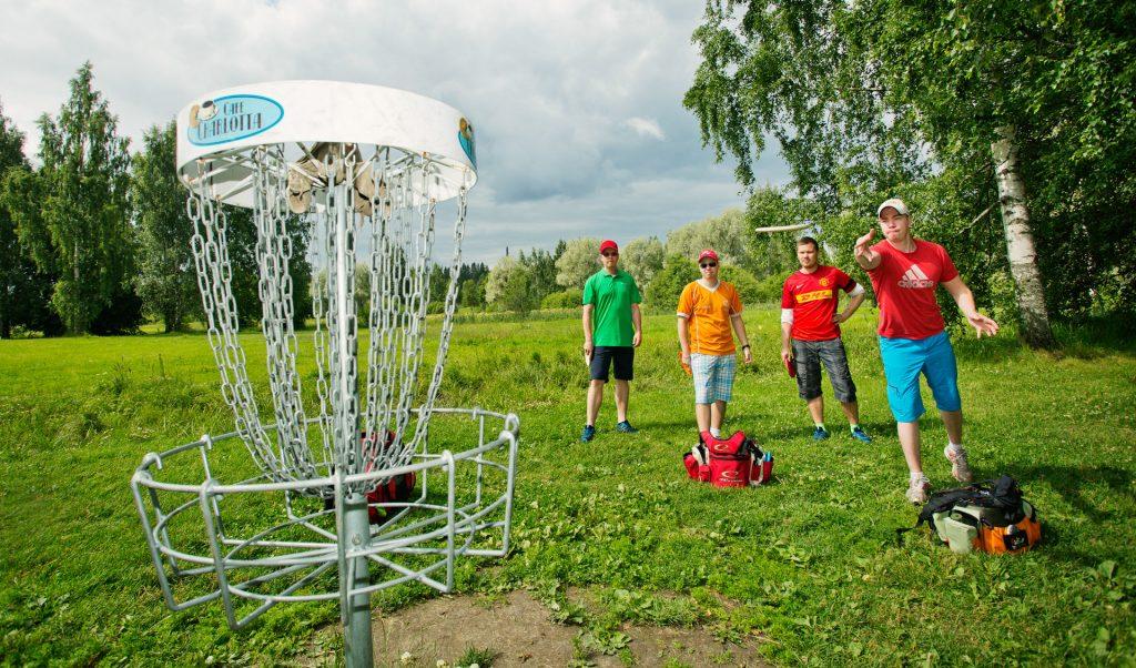 Frisbeegolf Lahti