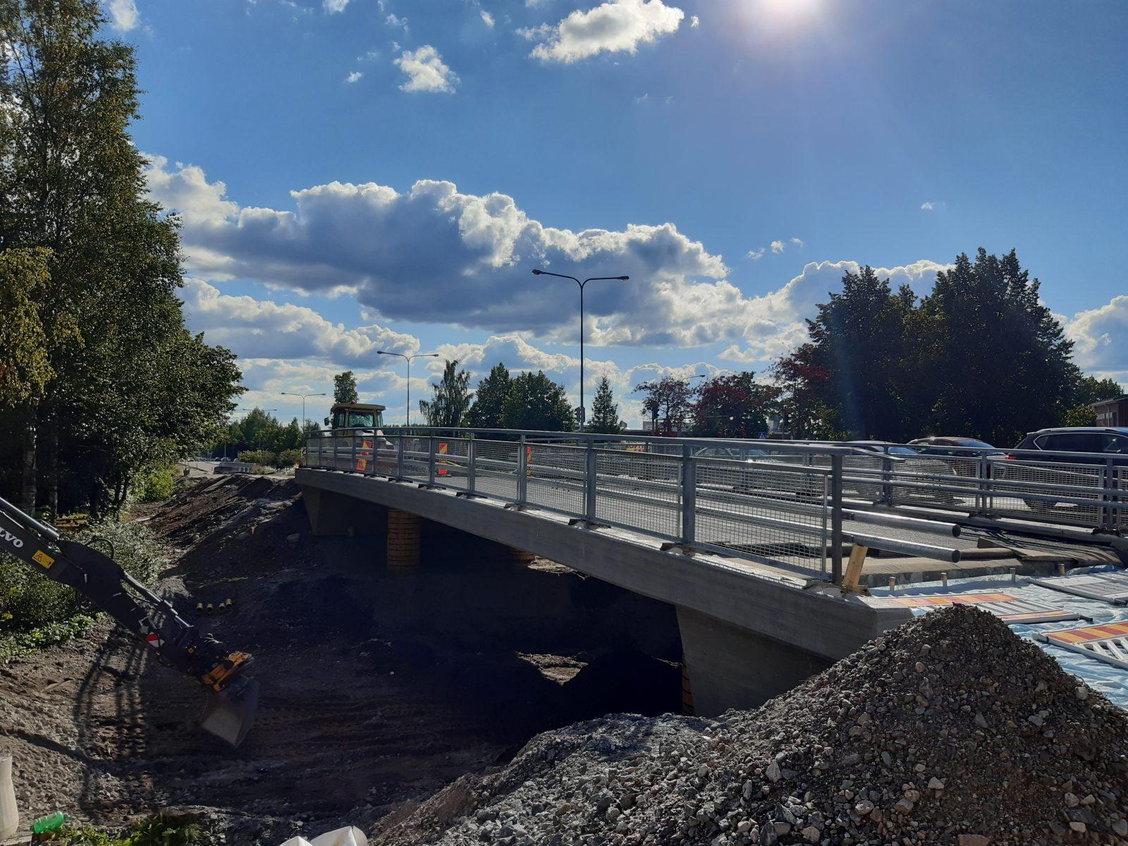 Heikinkadun silta on valmistunut CitiCAP-pyörätielle.