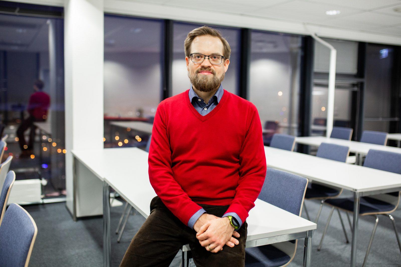 Kaupungininsinööri Jukka Lindfors