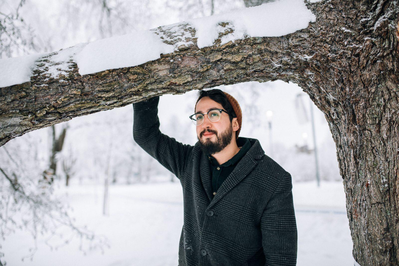 Enrique Marinille luminen talvi oli positiivinen sokki.