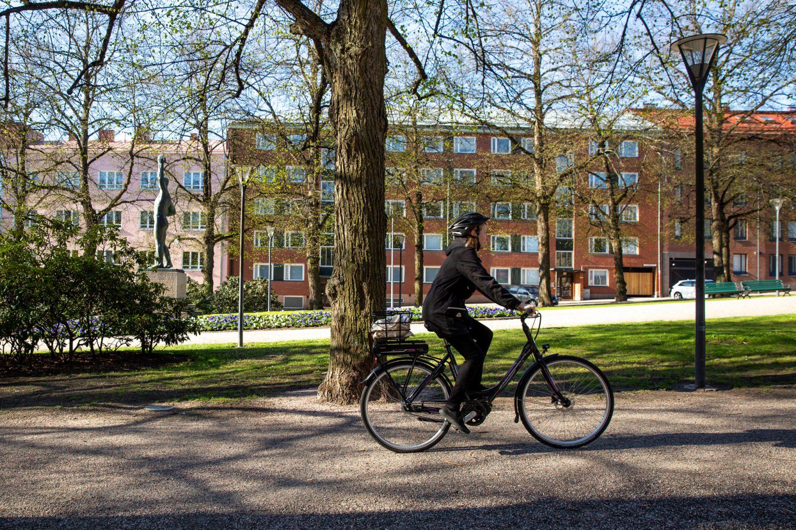 Lahden kaupunkipyörät ovat sähköavusteisia