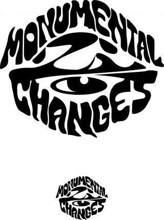 Monumental changes -nimisen yrityksen logo.